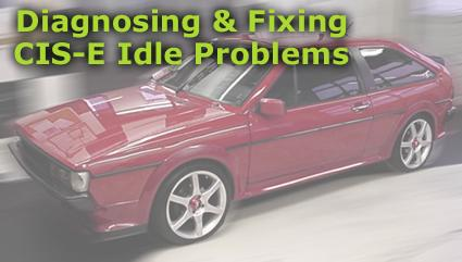 fixing cis e idle problems page 1