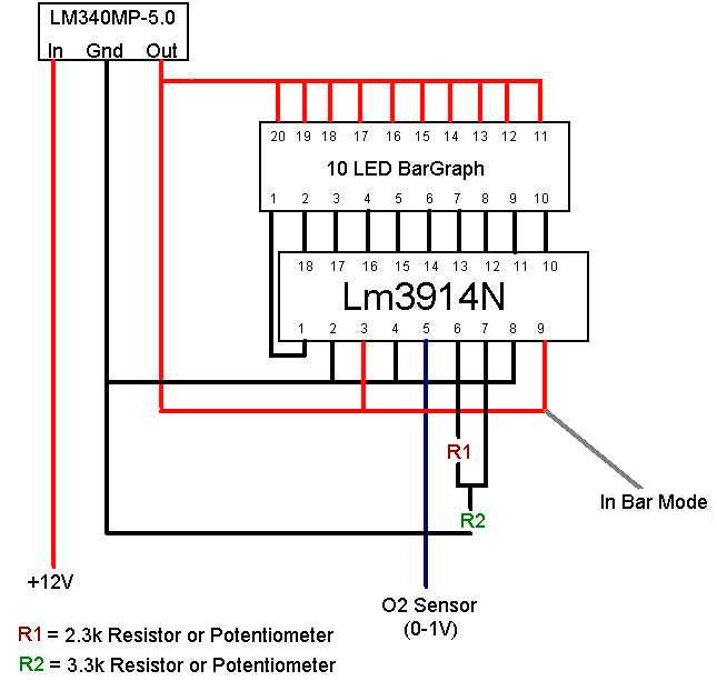Diy Air Fuel Ratio Meterrhsciroccoorg: Fuel Meter Schematic At Elf-jo.com